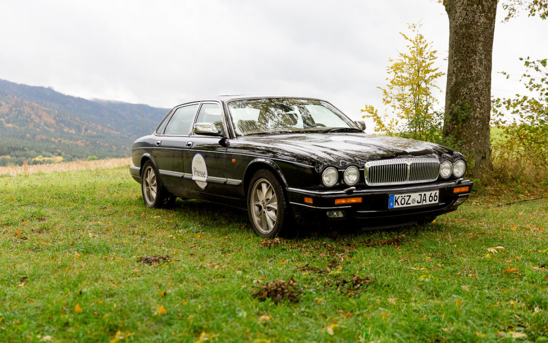 """The Beauty and The Beast"", der Jaguar Daimler Double Six"